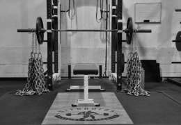 barbell-with-chain