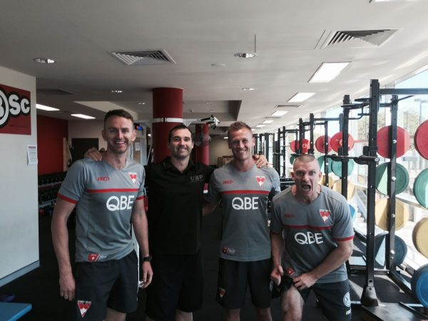 Which one do you think is the Swans strength and conditioning coach???